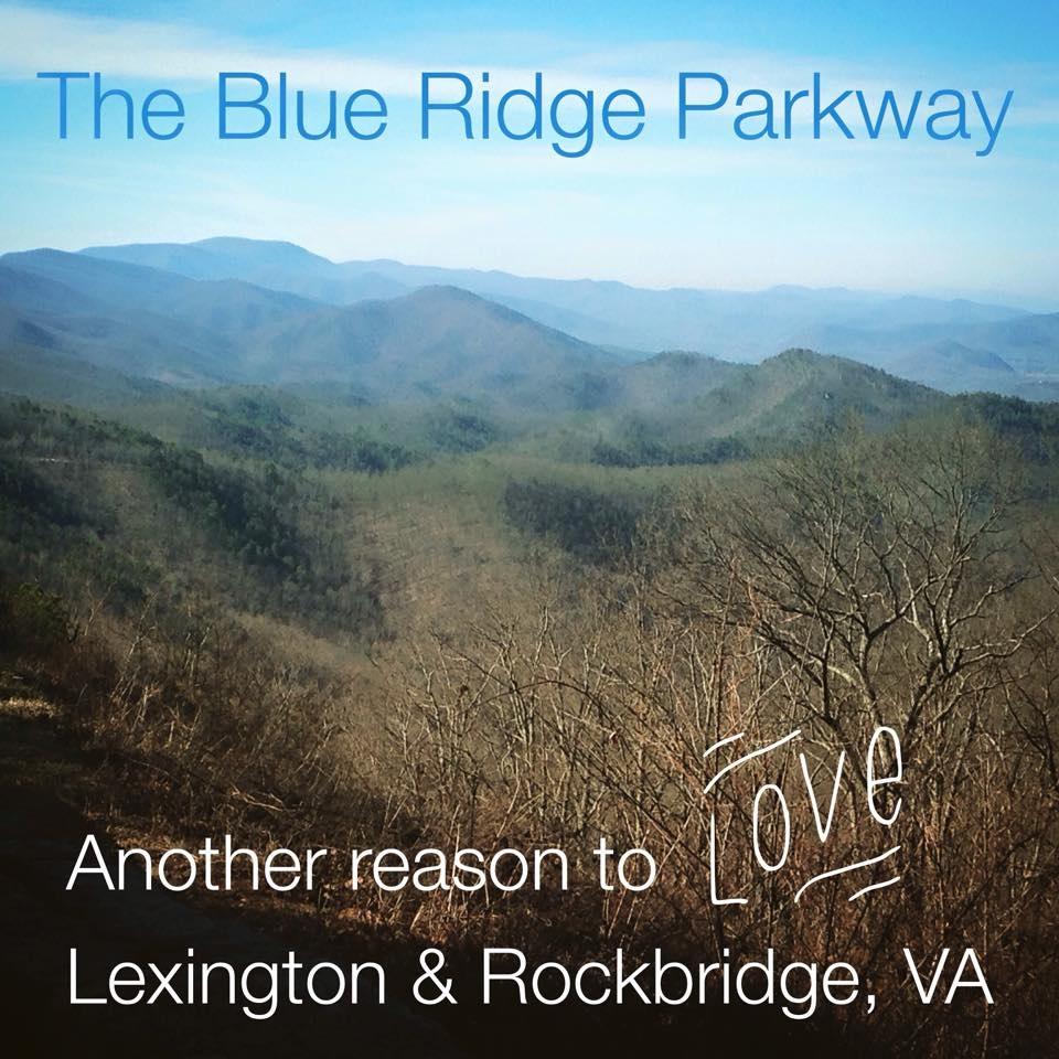 Blue Ridge Parkway near Lexington, VA