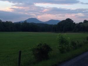 House Mountain near Lexington, Virginia