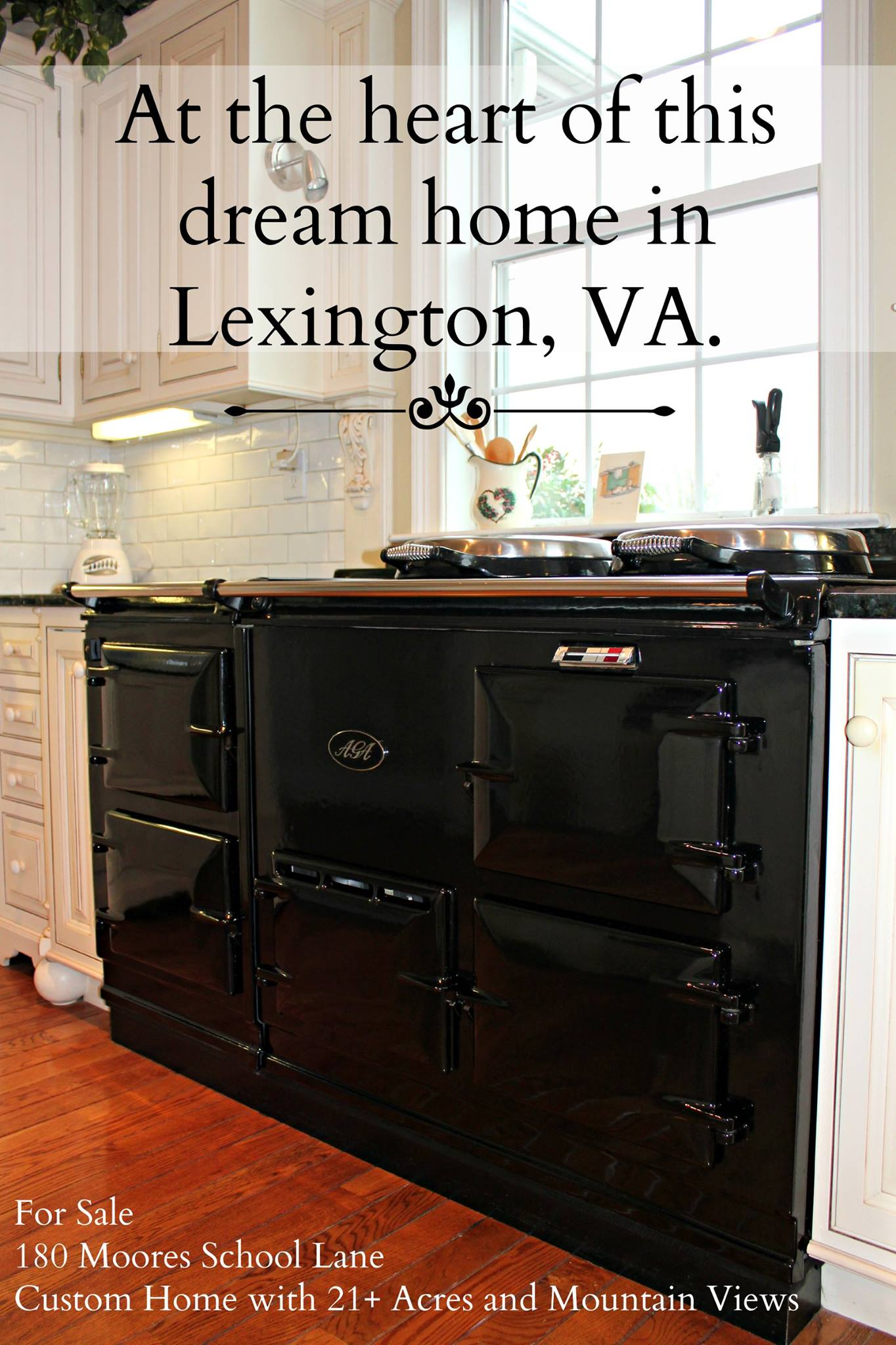 Lexington, VA kitchen | AGA cooker