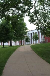 College town atmosphere in Lexington, VA