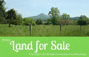 Lexington VA land for sale